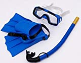 JENY Snorkel Swimming Diving Face Mask Diving Mask Sports Children Combo Mask and Snorkel Swimming Set Anti-Fog