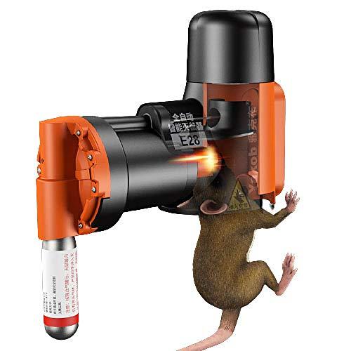 EmottUi Mouse Rat Trap Gather Poison Free, Kit de Trampa de Rata y ratón no tóxicos automáticos, Mata rápida y trampas de ratón Reutilizables para Exteriores al Aire Libre