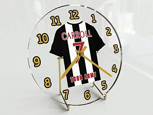 Standuhr Sky Bet Fußball-Meisterschaft, mit unterschiedlichen Teams, Namen, Nummern Newcastle United FC