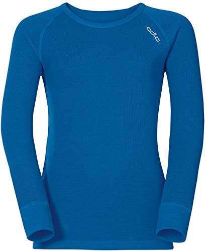 Odlo Bl Top Crew Neck L/S Active Warm Kids Haut Enfant directoire blue FR : M (Taille Fabricant : 80)