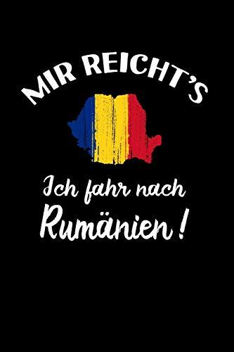 Romania: ich fahre nach Rumänien!: Notizbuch / Notizheft für Rumäne Rumänin Tricou Trikot A5 (6x9in) dotted Punktraster