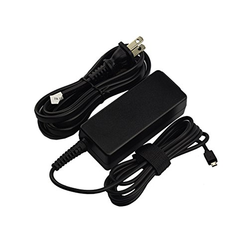 AC Charger for Asus for C100 C100P C100PA C201P C201PA C201 C100PA-DB01 C100PA-DB02 C100PA-DS03 C100PA-RBRKT03 Laptop Power Supply Adapter Cord