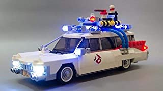 brickled USB Powered LED Light Kit for Lego 21108 Ghostbusters Ecto-1 (lego set not included)