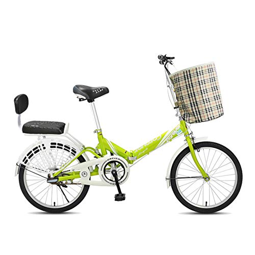 FUFU Bicicleta De Montaña, Bicicleta Plegable De 20 Pulgadas, Freno De Montaña...