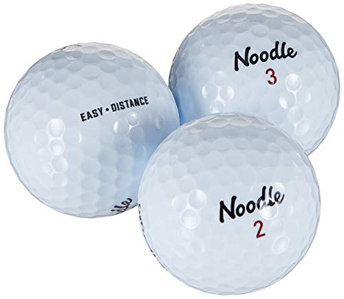 TaylorMade Noodle Easy Distance Golfball, Weiß, 30 Stück