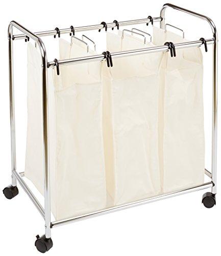 AmazonBasics 3 Bag Laundry Sorter