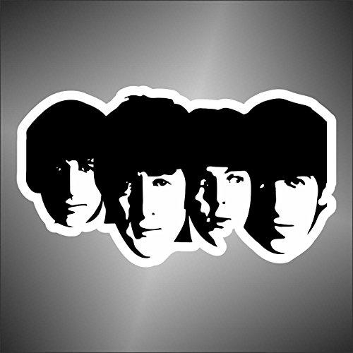 Graphic-lab Aufkleber - Sticker The Beatles hip hop Rap Jazz Hard Rock pop Funk Sticker