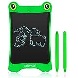NEWYES LCD Tablette d'Écriture 8.5 Pouces - Grenouille Pad Frigo Aimant du Quotidien Planificateur Board Édition Spéciale pour...