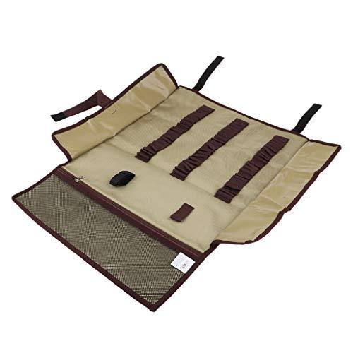 Sharplace Sac de Stockage Outil de Tente de Camping Poche Portable Sac Organisateur Piquet de Tente - Kaki, 79,5 x 44 cm