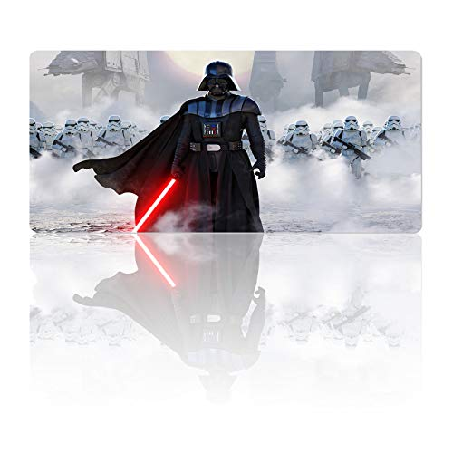Mouse Pad Large XL White,Soft Mousepad with Anti-Slip Rubber Base & Stitched Edges,Smooth Surface Laptop Desk Pad,Computer Keyboard and Mice Combo Pads Mouse Mat,Multi