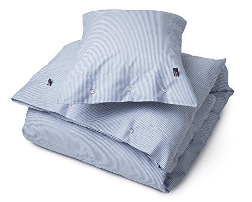 Lexington Bettwäsche Bettbezug Pin Point Blue White Duvet (135x200cm)