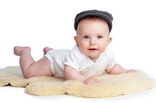 Baby Lammfell medizinisch gegerbt geschoren schadstoff- frei, waschbar (100-110 cm)