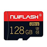 Micro SD Card 128GB Memory Card 128GB TF Card Full HD Memory Card Class 10 Designed for Android Smartphones,Tablets Class 10 with SD Card Adapter (128GB)