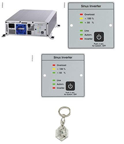 Zisa-Kombi Votronic Inverter SMI 1700 NVS (93298882203) mit Anhänger Hlg. Christophorus