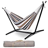 Giantex Hammock with Stand, 9 Ft Rope Double...