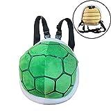 Knowooh Schildkrötenpanzer Cartoon Plüschtier Kleinen Rucksack für Kinder Kostüm Turtle...