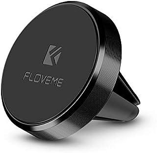 FLOVEME Magnetic Phone Holder for Car - Magnetic Car Mount Air Vent Magnet Holder Cradle - Black