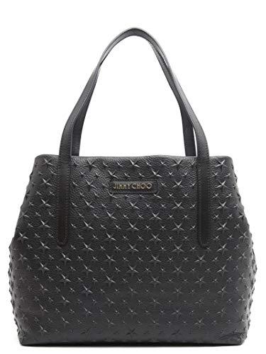 Jimmy Choo Luxury Fashion Donna SOFIALEMGBLACK Nero Borsa A Spalla | Stagione Permanente