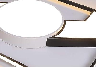 Amazon.com: Lámpara de techo moderna LED de 12 W, montaje ...