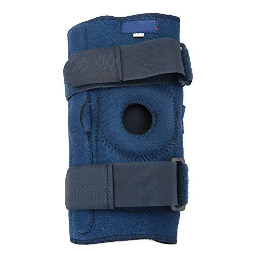 Andningsbart knästöd, komprimerat knästöd, halkskydd i knäleden, stötdämpande hål i knäet lindrar artrit och läkning (XL)