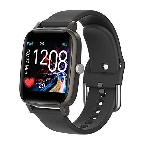 Kleurenscherm Sport Slim Bluetooth Horloge, Met Waterdichte Sport Stappenteller Bloeddruk Hartslag Slaap Monitoring Van Slimme Herinnering Armband
