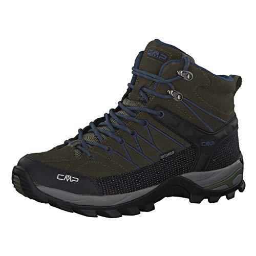 CMP Herren Rigel Mid Shoe Wp Trekking- & Wanderstiefel, Grün (Olive-Marine 08fc), 46 EU