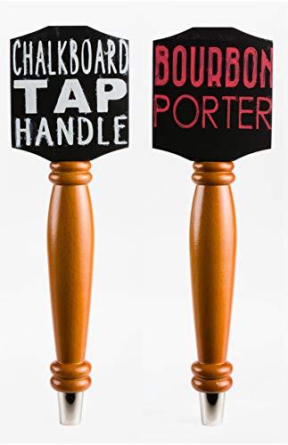 Chalkboard Tap Handle For The Draft Beer Lover's Kegerator or Bar (Original - 2 Pack Bundle)