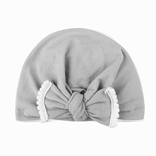 Lazzboy Babymütze Baby Mädchen Mütze Neugeborenenmütze Erstlingsmütze Hüte Mützen & Caps Hut- Baumwolle Für Nettes Kleinkind Scherzt Baby-mädchen(H)