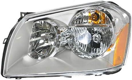 Headlight Ranking TOP16 Headlamp w Chrome Housing Driver Side for 05-0 Long Beach Mall LH Left
