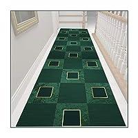 ZEMIN 廊下敷きカーペット、洗える滑り止めバッキングロングランナーラグホールカーペット、柔らかく快適な通路廊下キッチン階段フロアマット、2色 (Color : A, Size : 0.6mx6m)