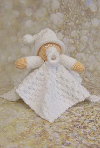 Knitting Pattern A5 Leaflet for a Little Baby Blanket Knitting Pattern from...