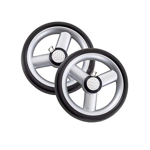 Andersen Ersatzrad-Set für Einkaufstrolley Unus Fun, Ø 170 mm, Silber