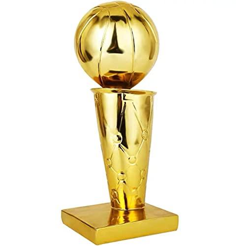 baa Trofeos de Baloncesto Campeón de Baloncesto Trofeo para competiciones Deportivas Trofeos de Arte Trofeo Modelo para Fans de Recuerdos de Recuerdos Decoración del hogar (Size : 16cm/6.3')