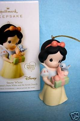 2008 Snow White ~ Limited Quantity Hallmark Keepsake Ornament ~ Disney ~ HTF