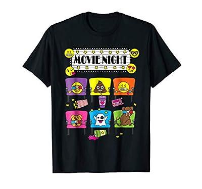 Emoji Night at the Movies T-Shirt