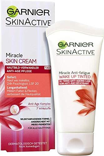 Garnier Miracle Skin Creme Anti-Age Gesichtscreme, 1er Pack (1 x 50 ml)