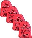 Coal Mine Naughty Black Nugget Bubblegum 4 Bags Candy-Santa Christmas Holiday Stocking Filler Gift-Fresh