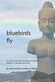 bluebirds fly by [Robin Andrew]