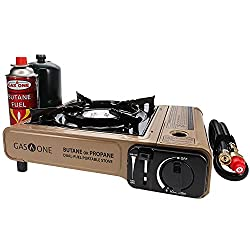 top 10 butane stoves GasONE Propane or Butane Stove GS-3400P Portable gas stove with two fuels for camping and hiking …