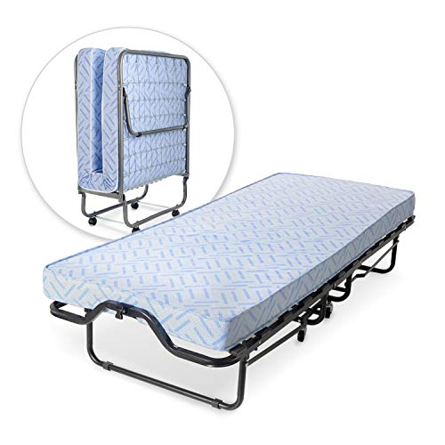 Milliard Lightweight Folding Cot with Mattress 31'x71.5'