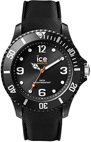 Ice-Watch Ice Sixty Nine Black, Orologio Nero Unisex con Cinturino in Silicone, 007277, Medium