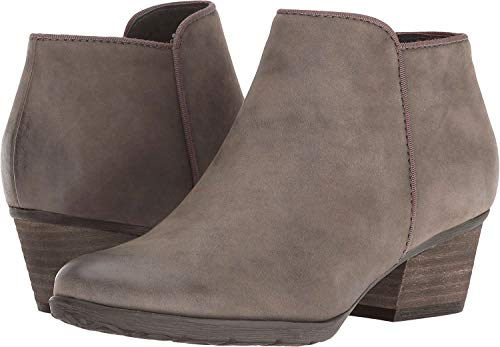Blondo Women's Villa Waterproof Ankle Bootie, Mushroom Suede, 6 M US