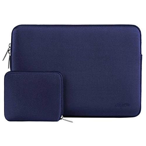 Simplicity Laptop Sleeve For Macbook Dell Hp Asus Acer Lenovo 11 12 13.3 14 15 Inch Laptop Bag Case For MacPro 13 15 Notebook Bags (Color : Navy Blue, Size : 12 inch)