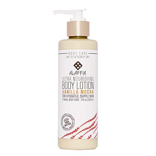 Alaffia - Moka intensif de vanille de beurre de Coco de lotion de corps - 8 once liquide