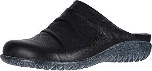 NAOT Footwear Women's Paretao Mule Soft Black Lthr 10 M US