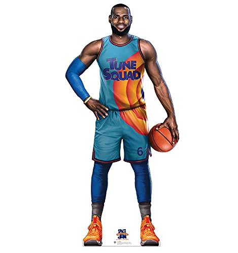 Advanced Graphics Lebron Life Size Cardboard Cutout Standup - Space Jam: A New Legacy (2021 Film)