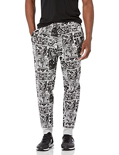 Amazon Essentials Disney Star Wars Marvel Fleece Sweatpants Pantaloni della Tuta, Comic, M