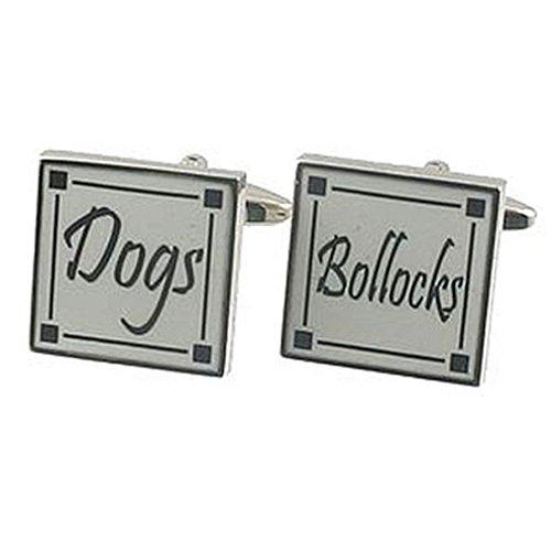 Drôle de manchette manchette~DOGS BOLLOCKS Manchette Pochette Cadeau Sélectionner