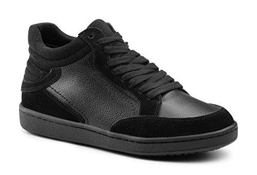 Keuka SureGrip Women's Carrie Black Hi-Top Slip Resistant Shoes 7.5M