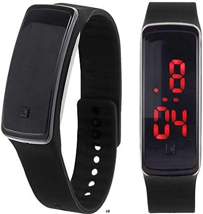 SolarM LED Digital Sport Watch Wristband Relojes Deportivos para Hombres